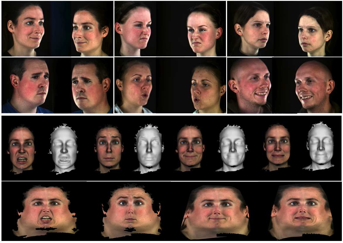 Free coding facial action system